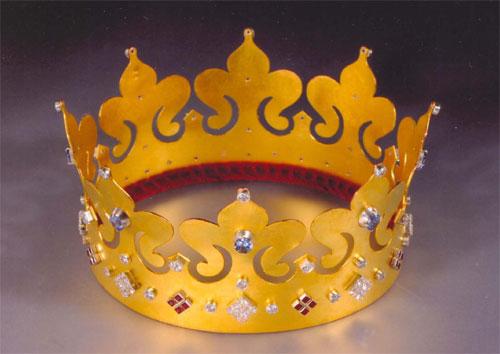 Как сделать своими руками корону для короля